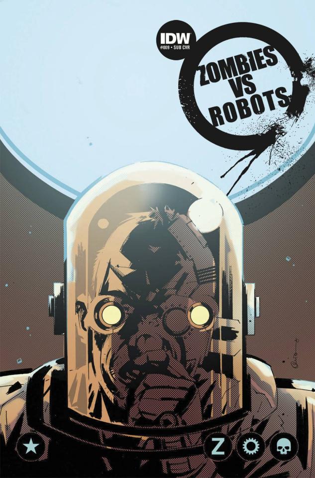 Zombies vs. Robots #9 (Subscription Cover)