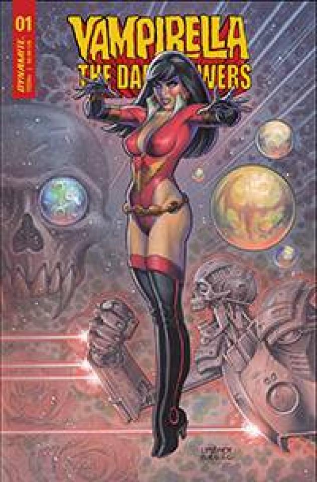 Vampirella: The Dark Powers #1 (Linsner CGC Cover)