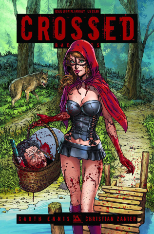 Crossed: Badlands #50 (Fatal Fantasy Cover)
