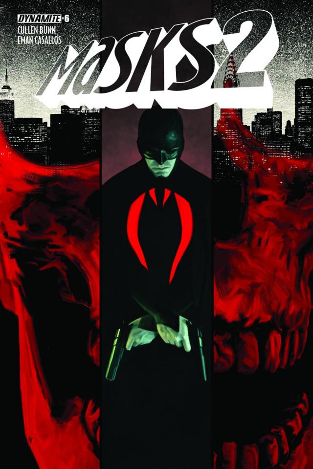 Masks 2 #6 (10 Copy Worley Black Bat Cover)