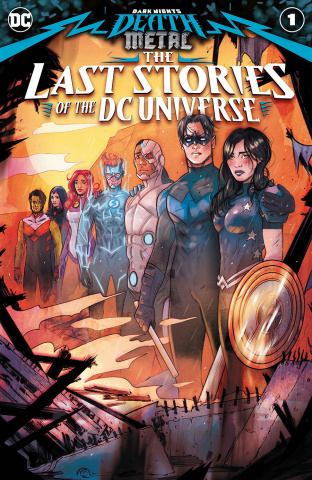 Dark Nights: Death Metal - The Last Stories of the DC Universe #1 (Tula Lotay Cover)