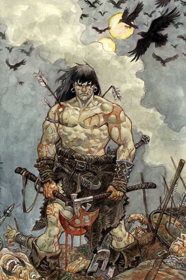 The Cimmerian: Iron Shadows in the Moon #3 (Josep Homs Cover)