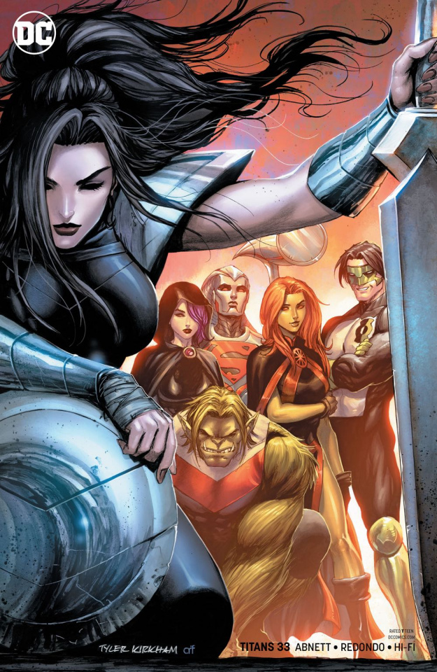 Titans #33 (Variant Cover)