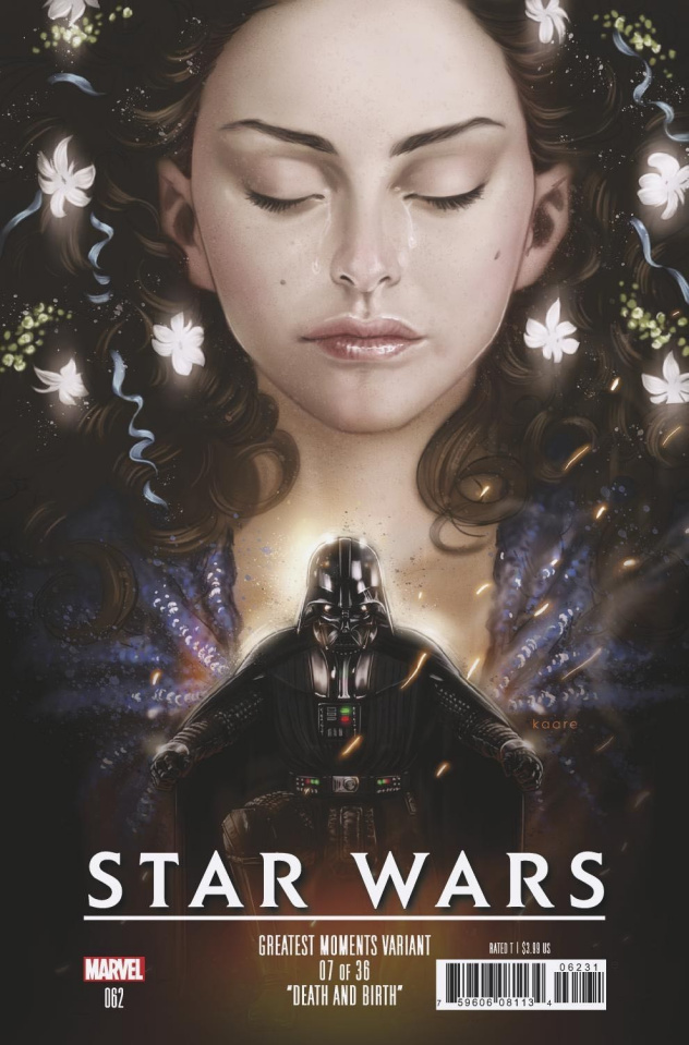 Star Wars #62 (Andrews Greatest Hits Cover)