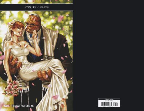 Fantastic Four #5 (Brooks Cover)