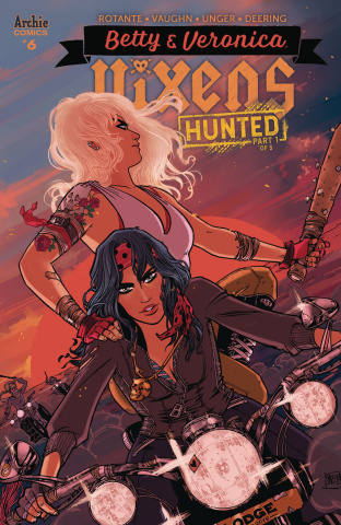 Betty & Veronica: Vixens #6 (Anwar Cover)