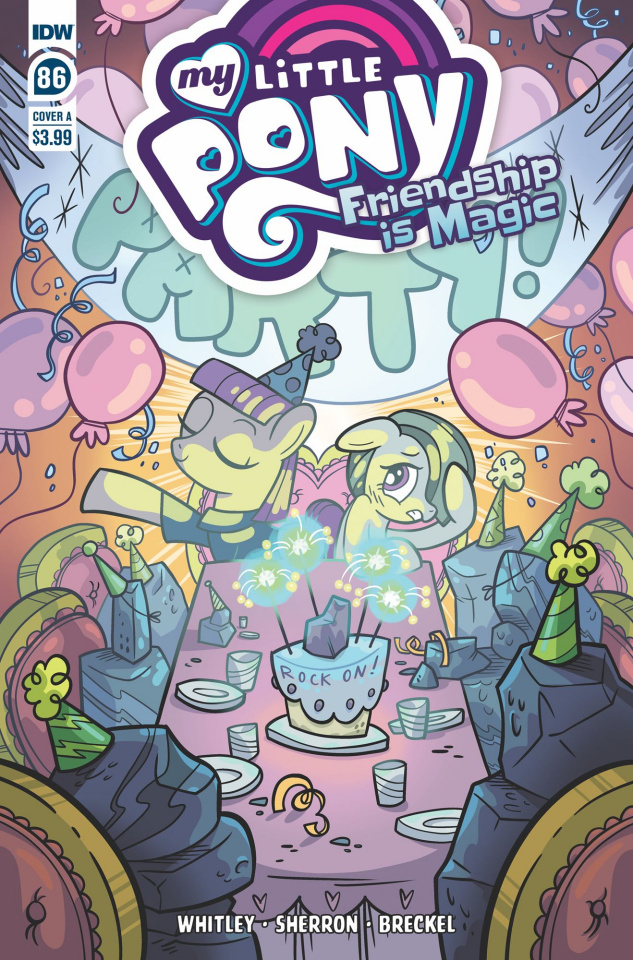 My Little Pony: Friendship Is Magic #86 (Sherron Cover)