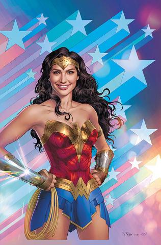 The Flash #767 (Nicola Scott Wonder Woman 1984 Card Stock Cover)