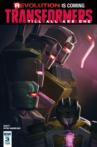 The Transformers: Till All Are One #3