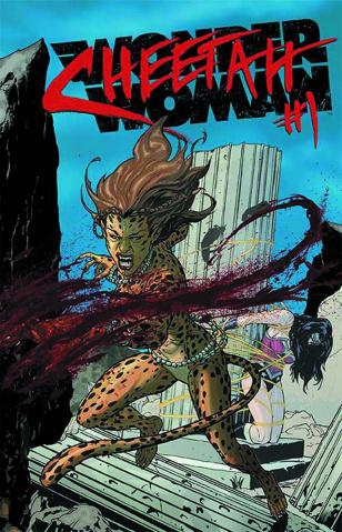 Wonder Woman #23.1: Cheetah Standard Cover
