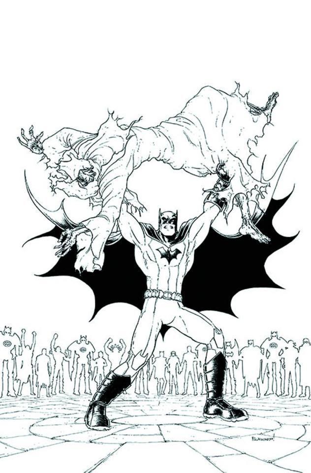 Batman Incorporated #12 (Black & White Cover)