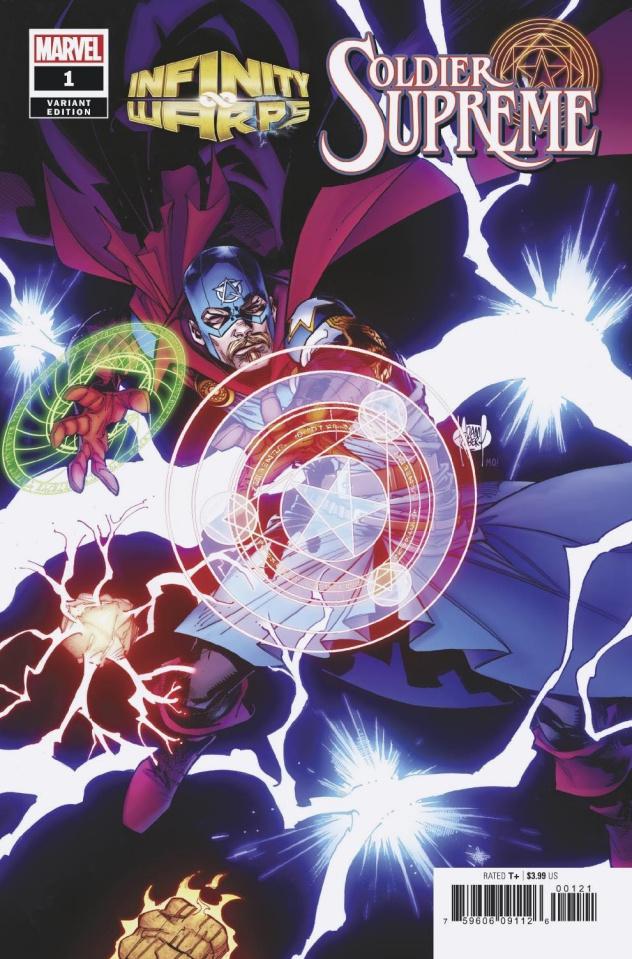 Infinity Wars: Soldier Supreme #1 (Kubert Cover)