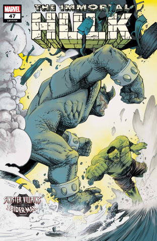 The Immortal Hulk #47 (Spider-Man Villains Cover)