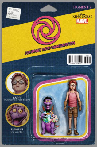 Figment 2 #3 (Christopher Action Figure Cover)