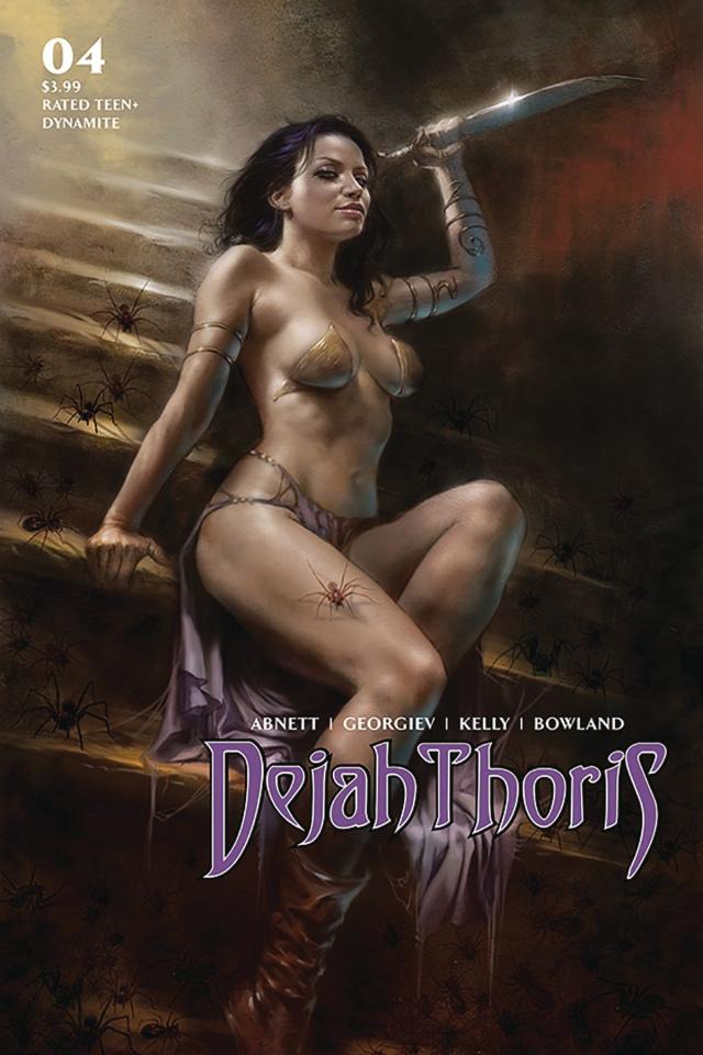 Dejah Thoris #4 (Parrillo Cover)