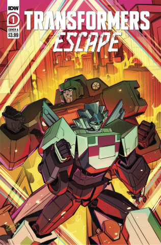 Transformers: Escape #1 (McGuire-Smith Cover)