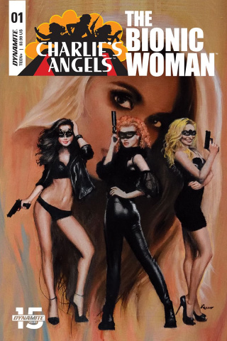 Charlie's Angels vs. The Bionic Woman #1 (Lesser Cover)