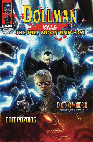 Dollman Kills the Full Moon Universe #3 (Templesmith Cover)