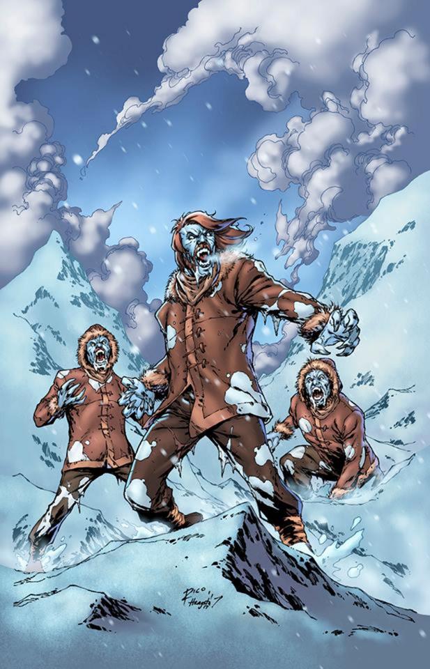 Grimm Fairy Tales: Van Helsing vs. The Werewolf #3 (Richardson Cover)