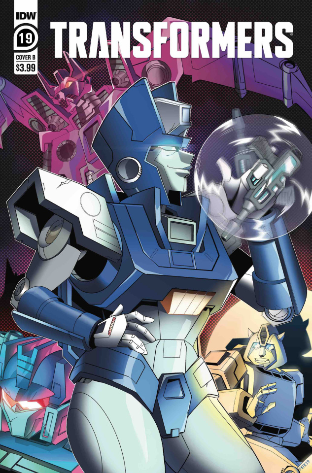 The Transformers #19 (Shepherd Cover)
