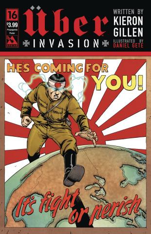 Über: Invasion #16 (Propaganda Poster Cover)