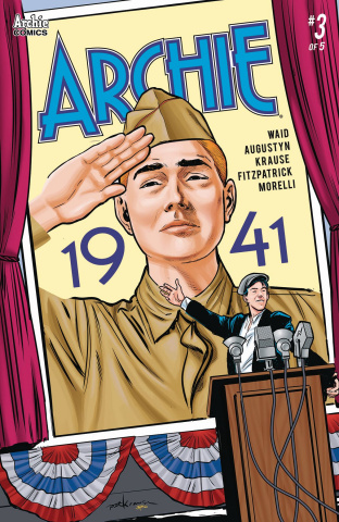 Archie: 1941 #3 (Krause Cover)