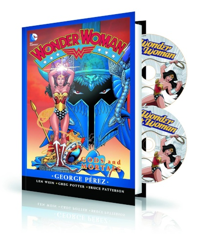 Wonder Woma: Gods and Mortal Book & DVD/BluRay Set
