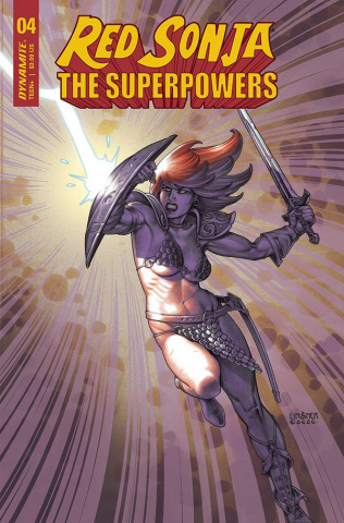 Red Sonja: The Superpowers #4 (Linsner Cover)