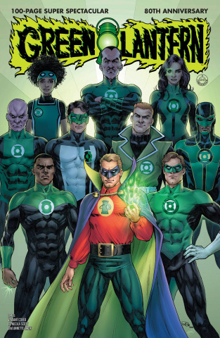 Green Lantern 80th Anniversary 100 Page Super Spectacular #1 (1940s Cover)