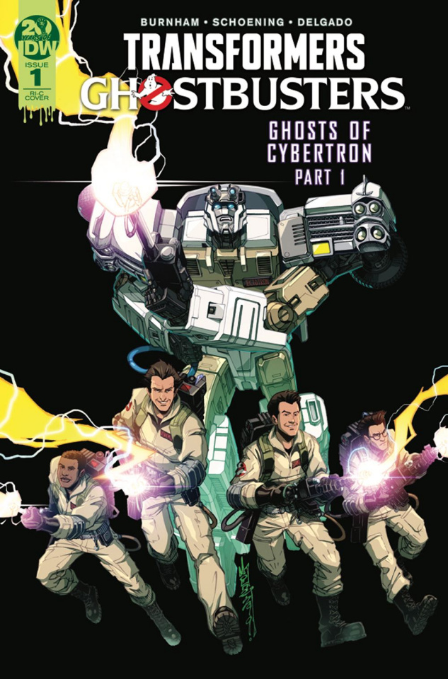 The Transformers / Ghostbusters #1 (50 Copy Milne Cover)