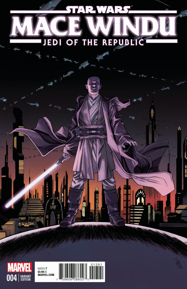 Star Wars: Mace Windu, Jedi of the Republic #4 (Shalvey Cover)
