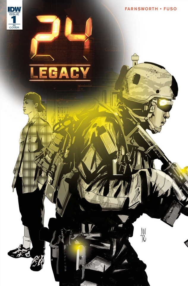 24 Legacy: Rules of Engagement #1 (10 Copy Cover)