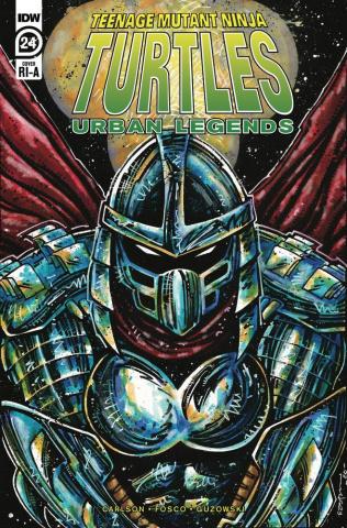 Teenage Mutant Ninja Turtles: Urban Legends #24 (10 Copy Eastman Cover)