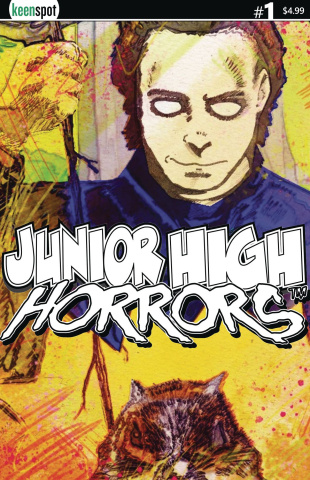 Junior High Horrors #1 (Mikey 1:5 Retailer Cover)