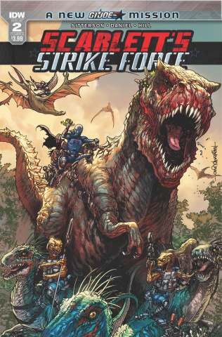 Scarlett's Strike Force #2 (Tolibao Cover)