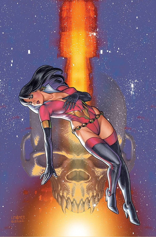 Vampirella: The Dark Powers #4 (Linsner Virgin Cover)