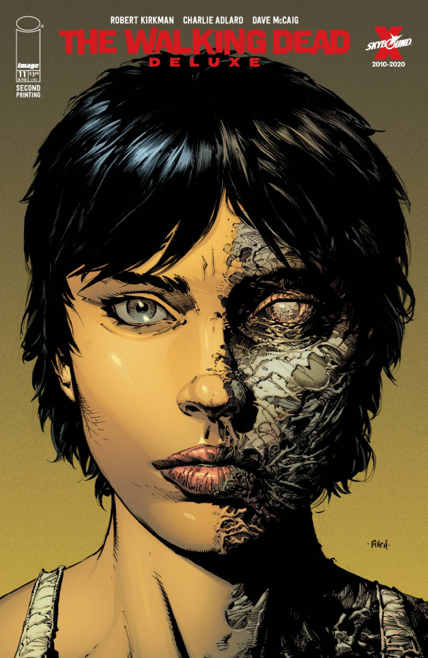 The Walking Dead Deluxe #11 (Finch & McCaig 2nd Printing)