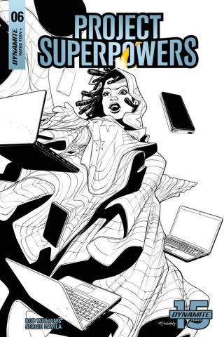 Project Superpowers #6 (20 Copy Segovia B&W Cover)