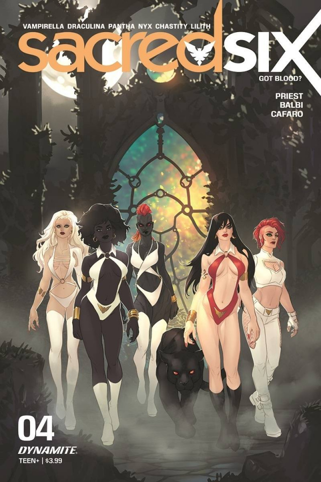 Sacred Six #4 (Hetrick Cover)