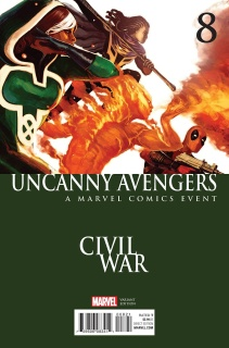 Uncanny Avengers #8 (Hans Civil War Cover)