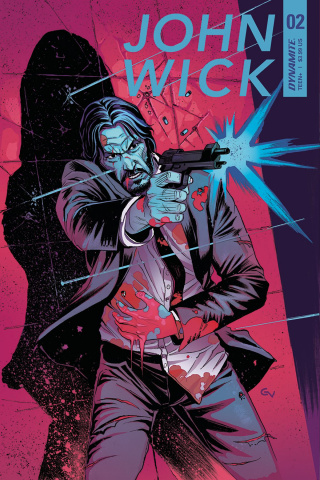 John Wick #2 (Valletta Cover)