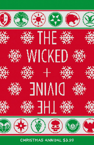 The Wicked + The Divine Christmas Annual #1 (McKelvie & Wilson Cover)