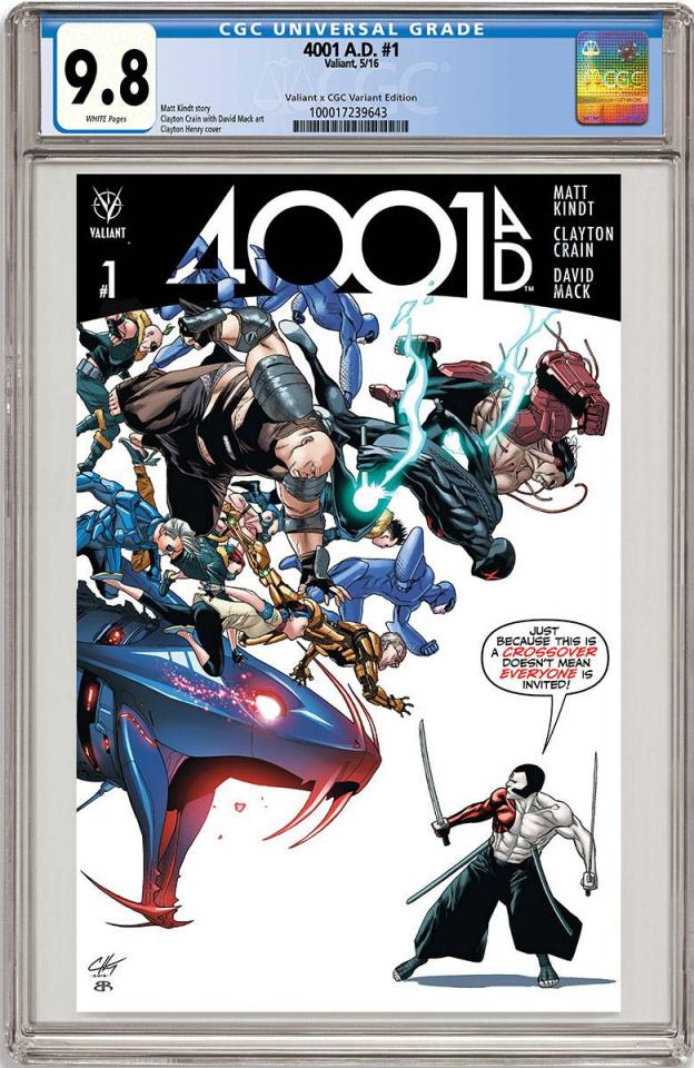 4001 AD #1 (CGC Replica Henry Cover)