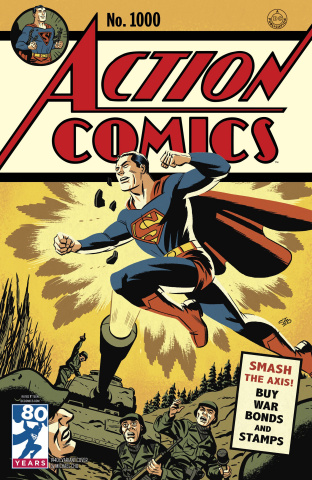 Action Comics #1000 (1940s Cover)