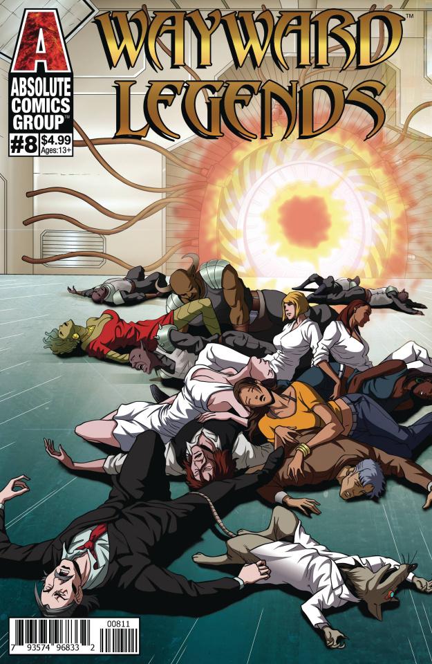 Wayward Legends #8 (Yang Cover)