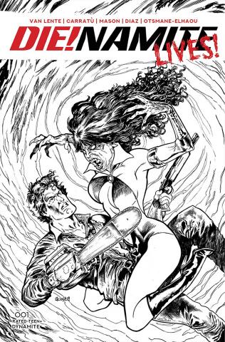 DIE!namite Lives! #1 (10 Copy Acosta Pencil Art Cover)