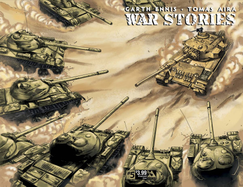 War Stories #5 (Wrap Cover)