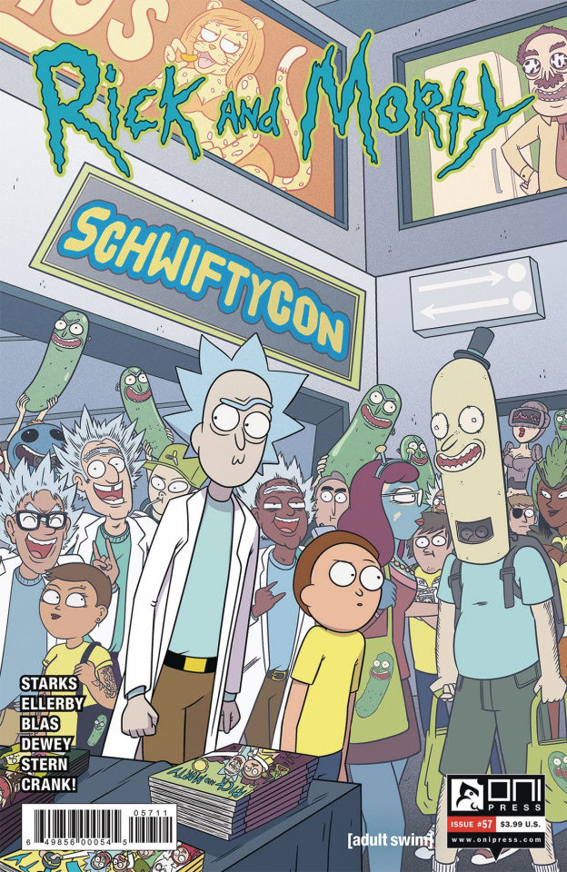 Rick and Morty #57 (Ellerby Cover)
