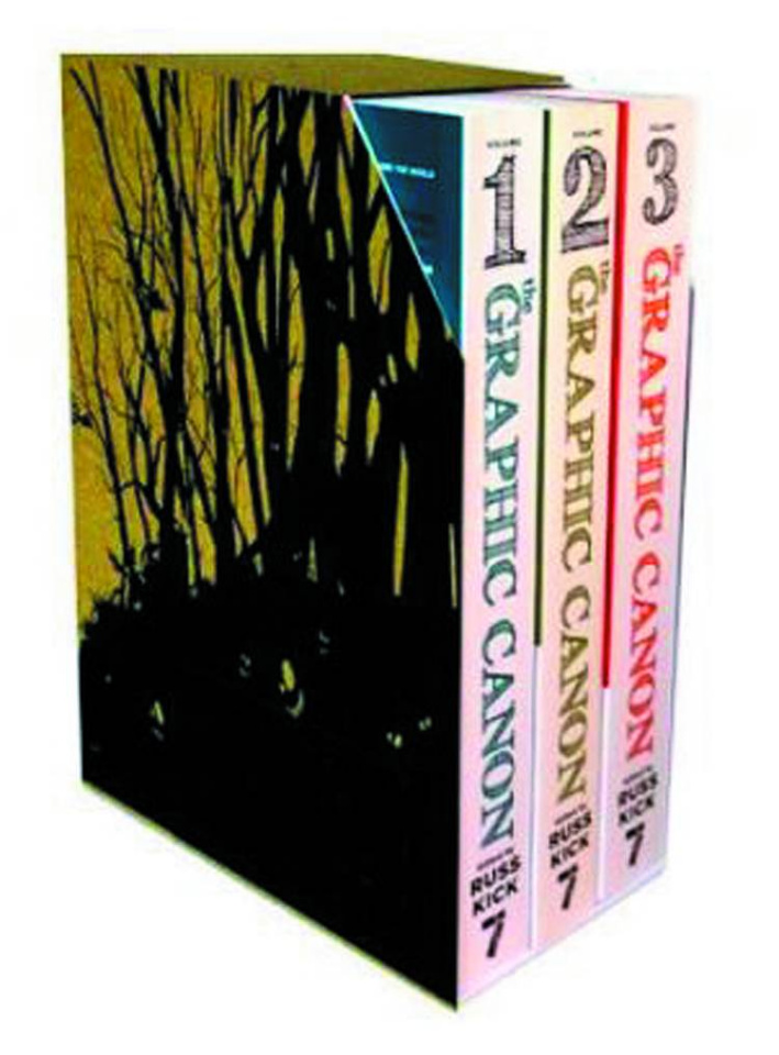 The Graphic Canon Vols. 1-3