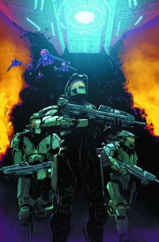 Halo: The Fall of Reach - Covenant #1
